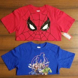Set of Marvel Tees